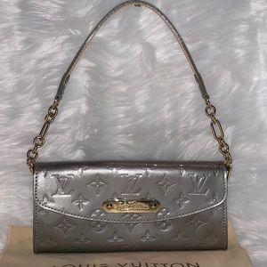 Louis Vuitton Sunset Blvd Silver Parent Leather